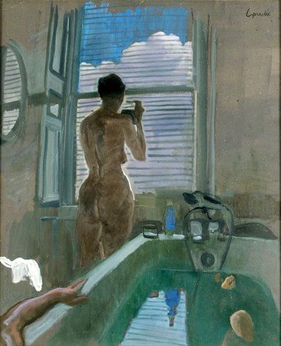 Alec Goudie bath scene