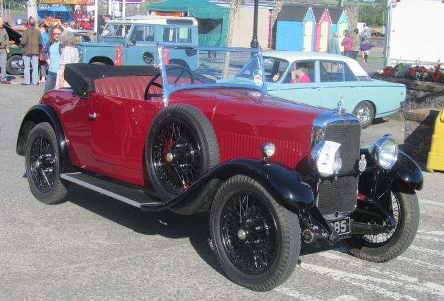 Kirkcudbright Classic Car Meet Aug 2013 001
