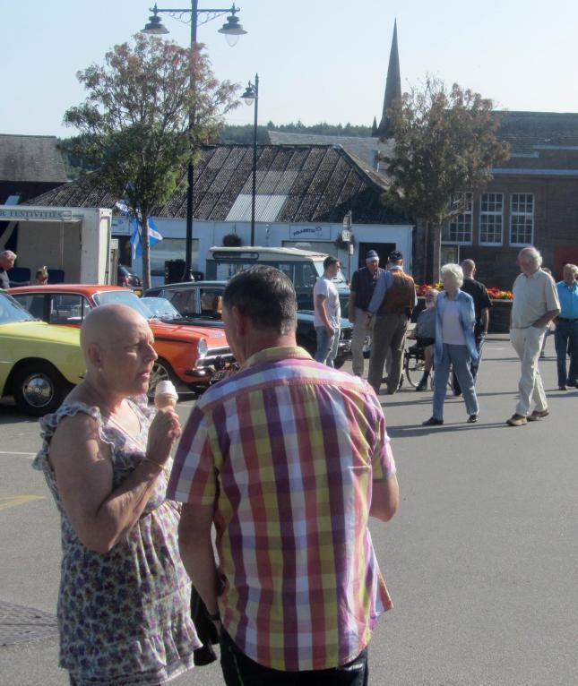 Kirkcudbright Classic Car Meet Aug 2013 079