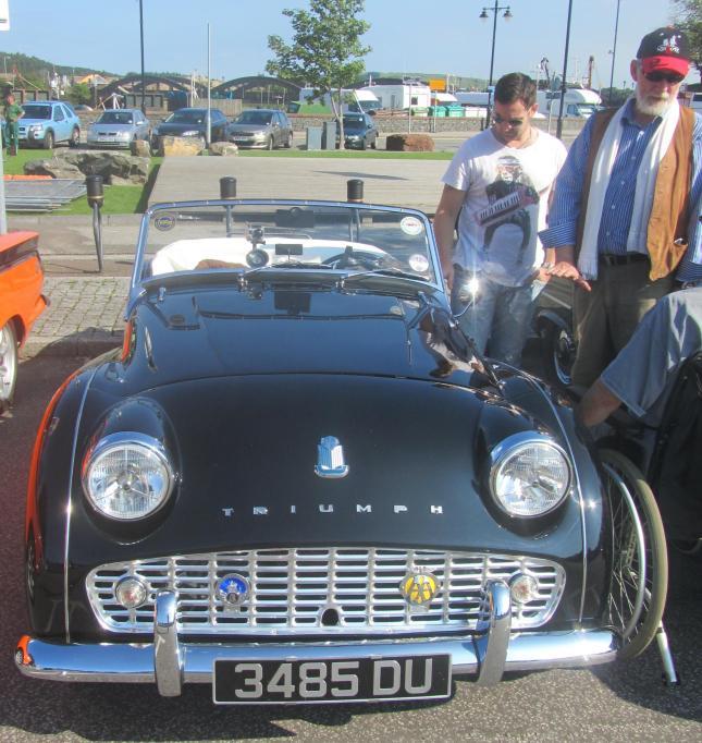 Kirkcudbright Classic Car Meet Aug 2013 091