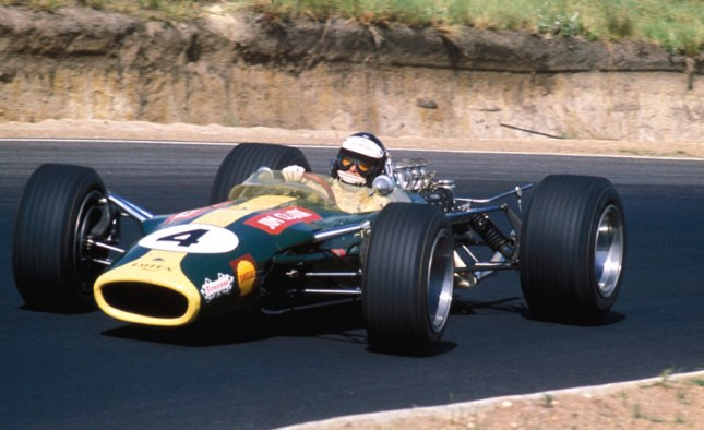 Jim Clark at Kylami