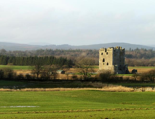 Threave Castle at Xmas 001