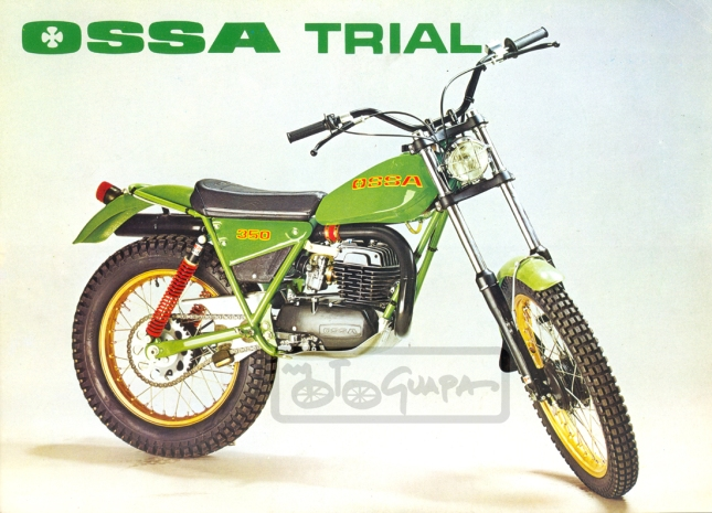 green ossa 250 trials