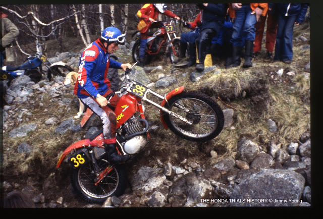 Rob Shepherd 360 Honda copyright Jimmy Young